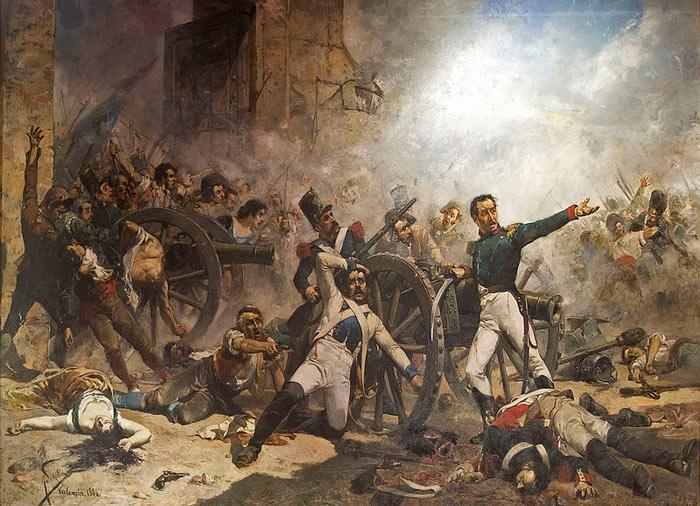 Defensa del Parque de Artillería de Monteleón