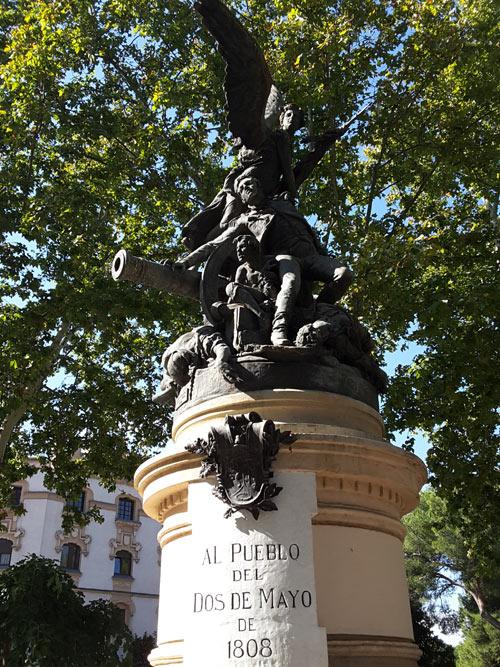 Monumento a los Héroes del 2 de Mayo de Aniceto Marinas