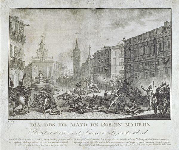 Sucesos del 2 de Mayo de 1808