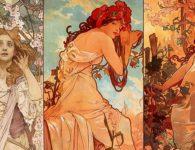 Las mejores obras de Alphonse Mucha en el Palacio de Gaviria