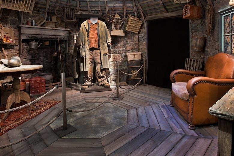 La cabaña de Hagrid