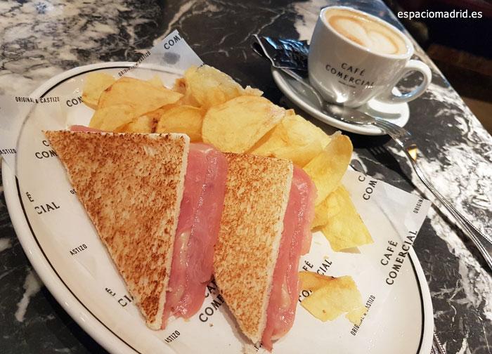 Sandwich-Cafe comercial