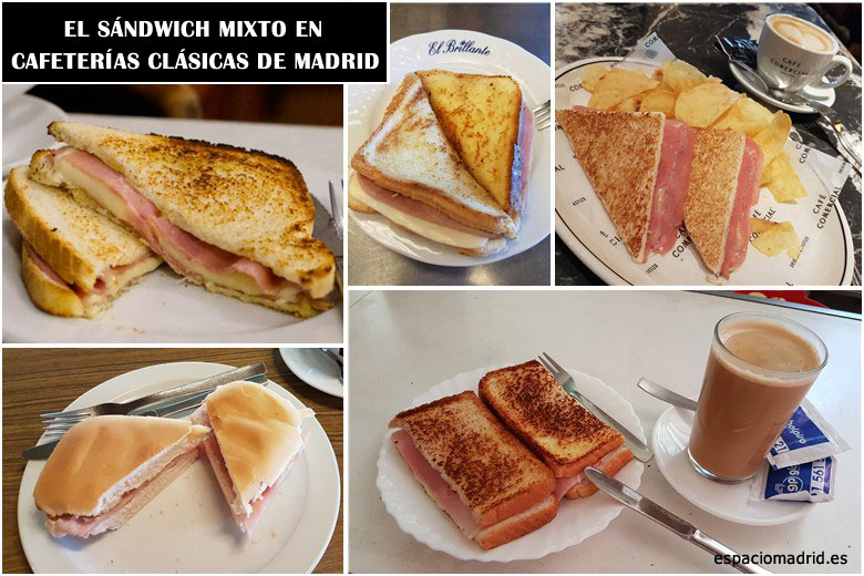 Sandwich Mixto Madrid