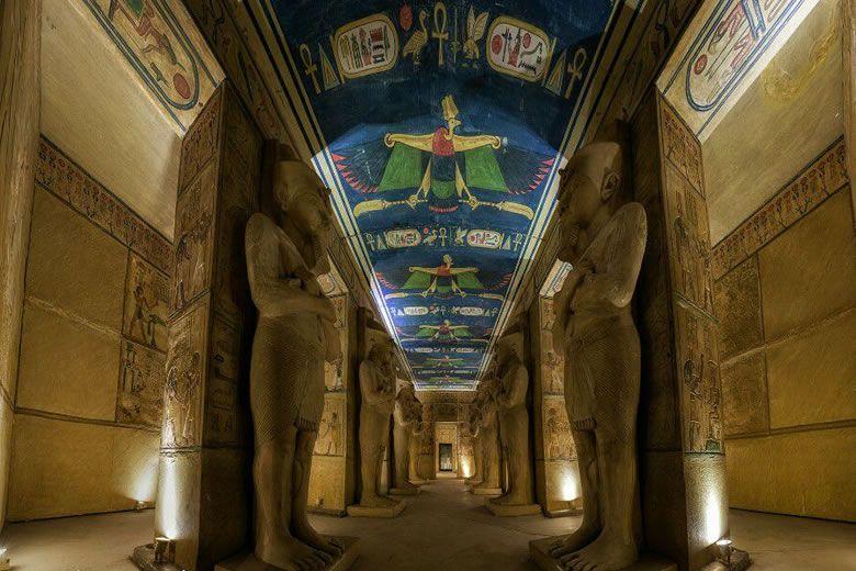 El templo de Abu Simbel. Descubre las maravillas de Egipto en Alcobendas