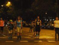 Ruta nocturna en patines por el centro de Madrid