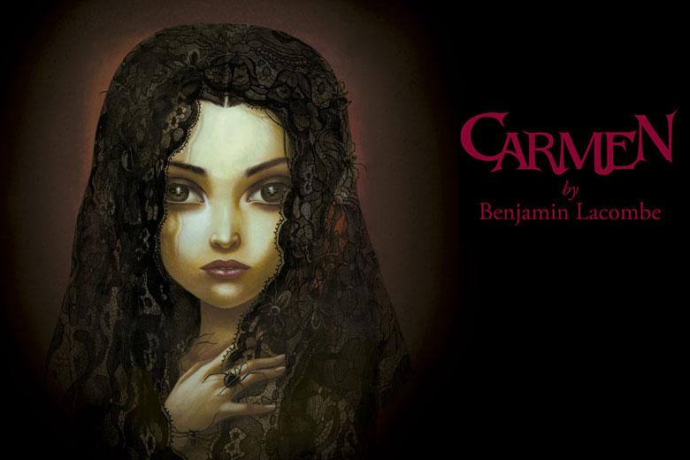 Carmen by Benjamin Lacombe en el Museo ABC