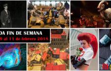 Qué hacer en Madrid del 9 al 11 de febrero de 2018