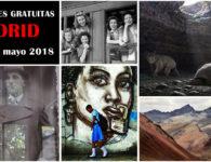 10 Interesantes exposiciones gratuitas en Madrid, de marzo a mayo 2018