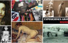 Interesantes exposiciones gratuitas que puedes disfrutar en Madrid 2018