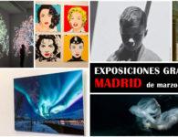 Nuevas e interesantes exposiciones gratuitas en Madrid, de marzo a abril de 2018