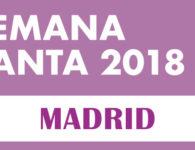 Programación Semana Santa Madrid 2018