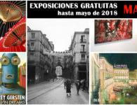 9 Interesantes exposiciones gratuitas en Madrid hasta mayo de 2018