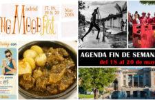 Qué hacer en Madrid del 18 al 20 de mayo 2018