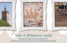 Visita el patrimonio de Alcalá de Henares gratis hasta mayo de 2019
