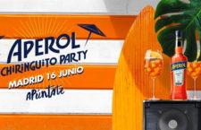 ¡Te invitamos a la Aperol Chiringuito Party en el Museo del Ferrocarril!