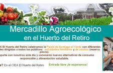 Mercadillo Agroecológico del Huerto del Retiro, domingo 10 de junio de 2018