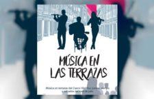 Música en las terrazas. Conciertos nocturnos en plazas y terrazas de Alcalá de Henares