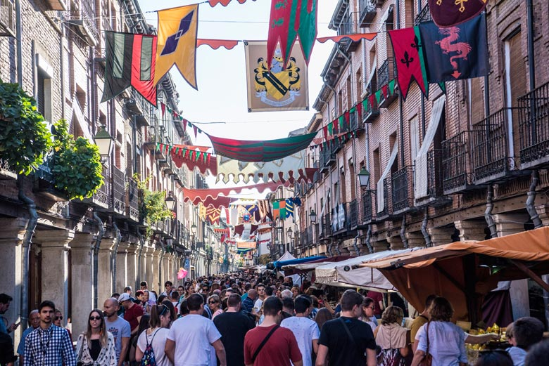 Mercado Cervantino de Alcala de Henares