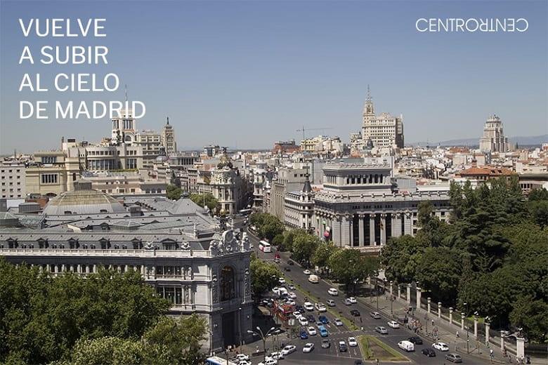 Mirador Madrid Palacio de Cibeles