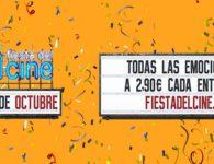 Fiesta del Cine: 1, 2 y 3 de octubre 2018