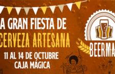 Beermad 2018, mercado de cerveza artesana en Caja Mágica del 11 al 14 de octubre