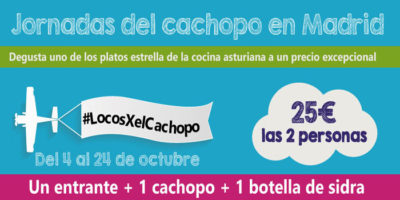 Jornadas del Cachopo especial celíacos en Madrid