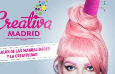 SALÓN CREATIVA MADRID, del 25 al 28 de octubre de 2018