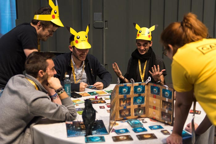 GAME ON MADRID Juegos de Mesa