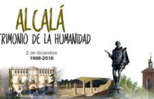 Actividades gratuitas por el 20 Aniversario de Alcalá como Ciudad Patrimonio de la Humanidad