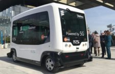 EZ10 el primer Autobús Eléctrico Sin Conductor en Madrid