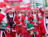 La Carrera de Papá Noel 2018, organizada por El Corte Inglés
