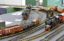 Gran exposición de trenes a escala en Casa de Campo