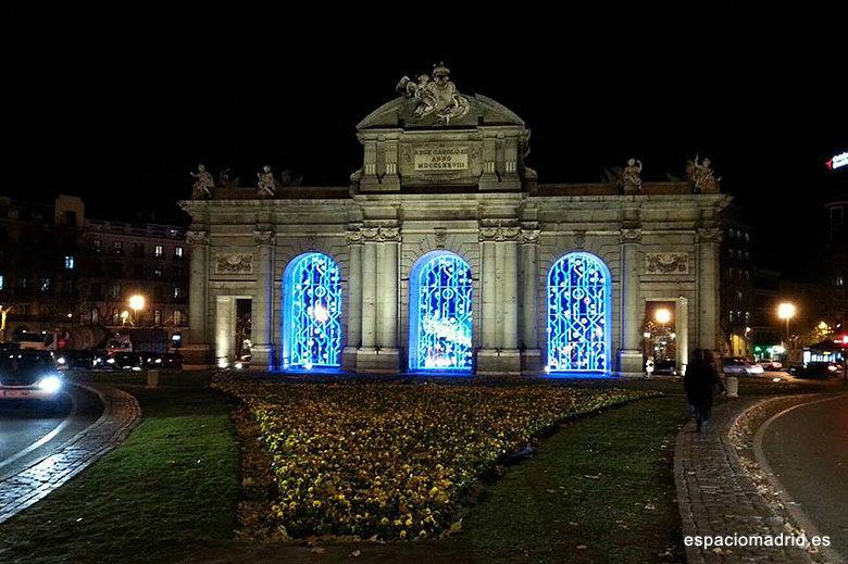 Iluminación navideña Madrid 2019-2020