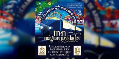 Tren de Navidad de Torrejón, viaje mágico en un tren histórico de los años 70