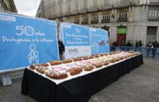Aldeas Infantiles SOS repartirá gratis Roscón de Reyes y chocolate caliente en la Puerta del Sol 2019