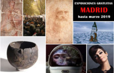 26 Interesantes exposiciones gratuitas en Madrid, hasta marzo de 2019