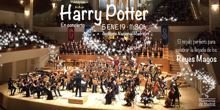 harry potter en concierto