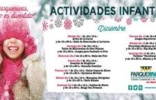 Actividades Infantiles Gratuitas para estas navidades en el C.C. Parque Rivas
