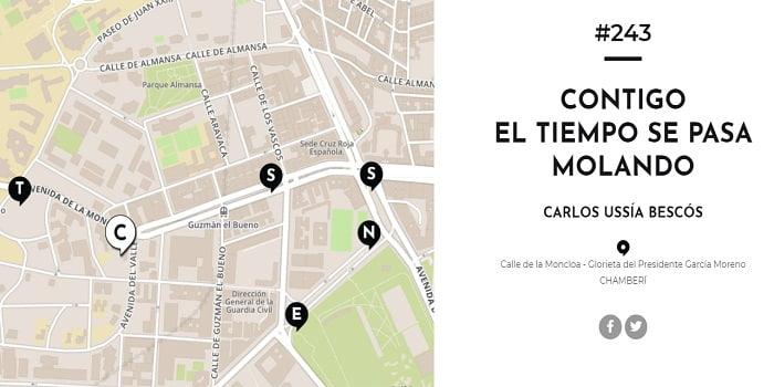 versos al paso Madrid