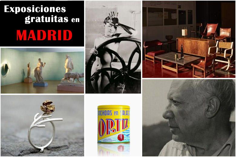 19 Interesantes exposiciones gratuitas en Madrid a visitar desde este mes febrero