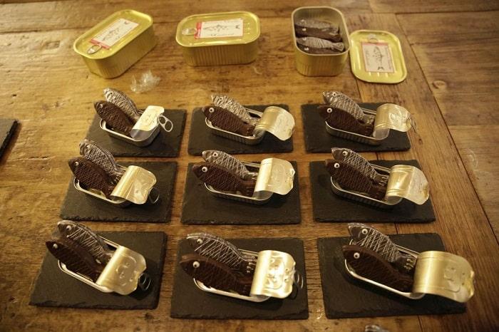 sardina chocolate
