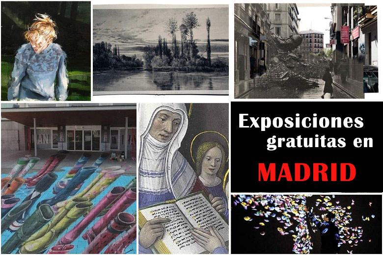 12 exposiciones gratuitas e interesantes a visitar en Madrid 2019