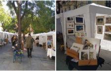 Mercadillo de Pintores cada domingo en Madrid