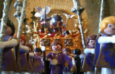 """""""La Semana Santa Cofrade"""" de Playmobil a través de 12 dioramas en el Mercado del Juguete"""