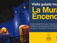 Visita Guiada Nocturna a la Muralla Medieval y el Palacio Arzobispal de Alcalá de Henares