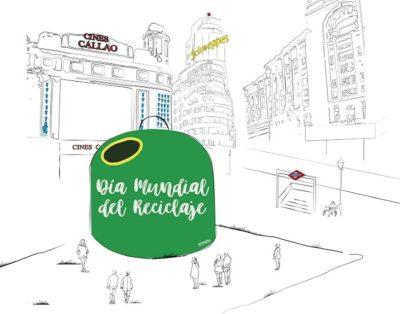ECOVIDRIO colocará un contenedor de 8 metros de altura en Callao