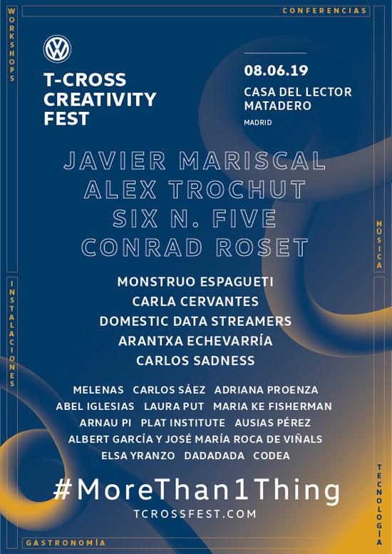 T-Cross Creativity Fest
