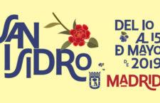 Programación Fiestas de San Isidro Madrid 2019, del 10 al 15 de mayo