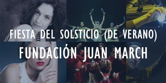 Fiesta del Solsticio de verano en la Fundación Juan March