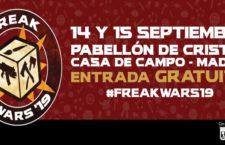 FREAK WARS Madrid, 14 y 15 de septiembre 2019